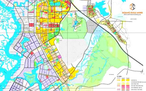 Quy hoạch hạ tầng thị xã Phú Mỹ