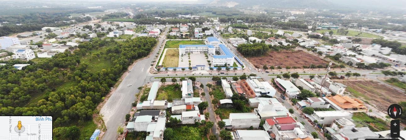 Tổng thể toàn khu tái định cư 44ha Phú Mỹ