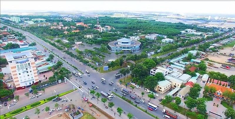 Trung tâm thị xã Phú Mỹ